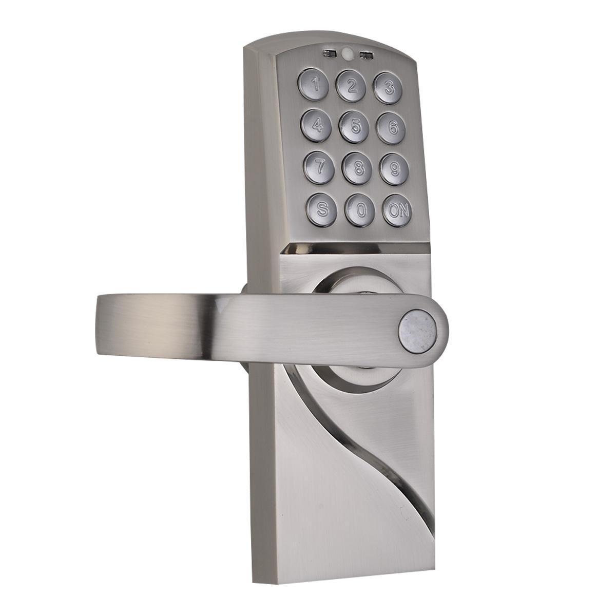 door knob with lock and key photo - 10