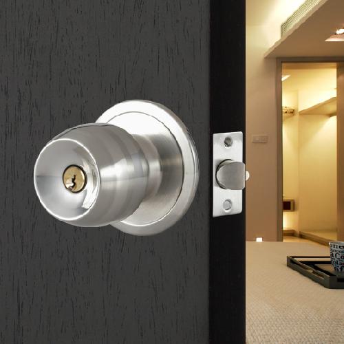 door knob with lock and key photo - 6