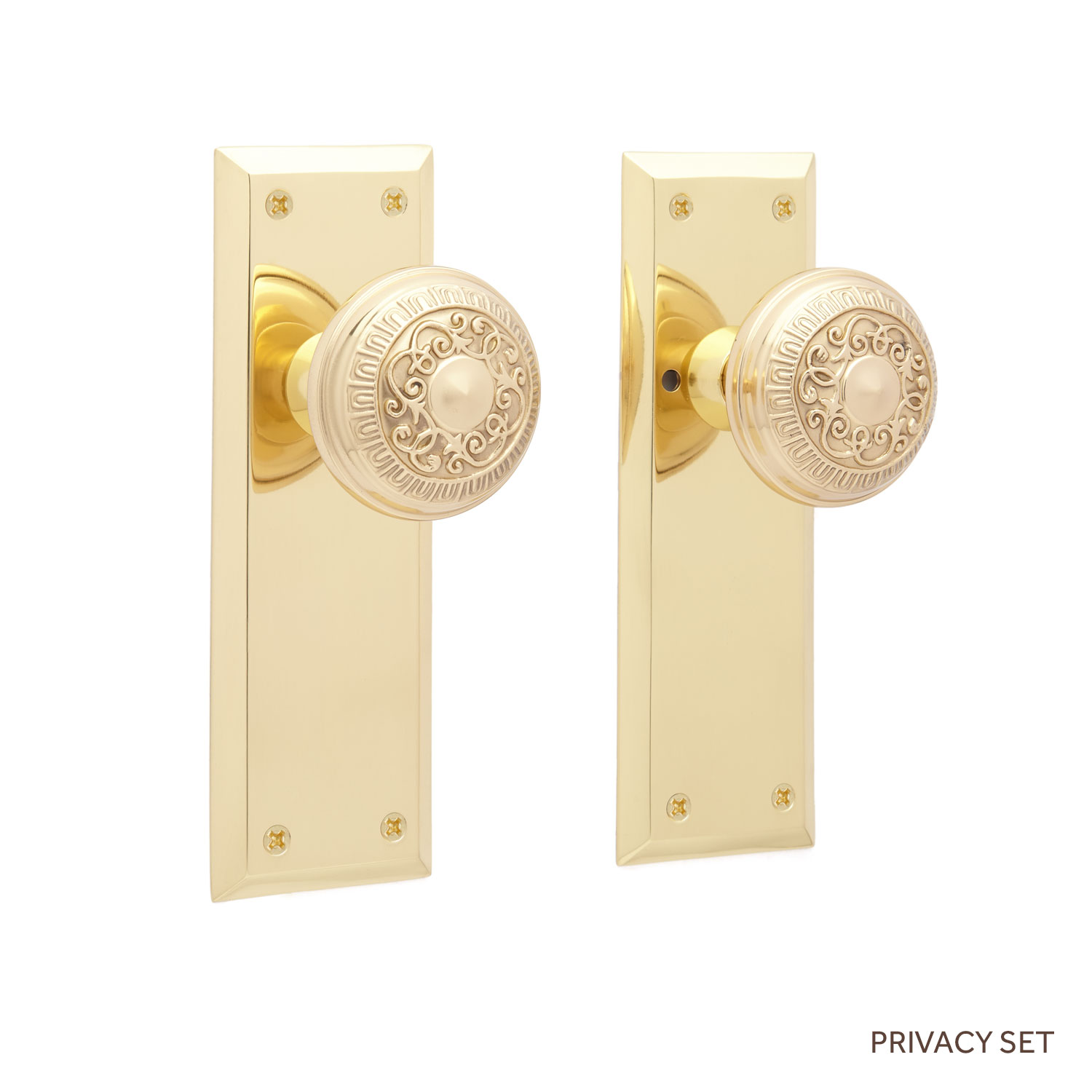 door knob with plate photo - 20