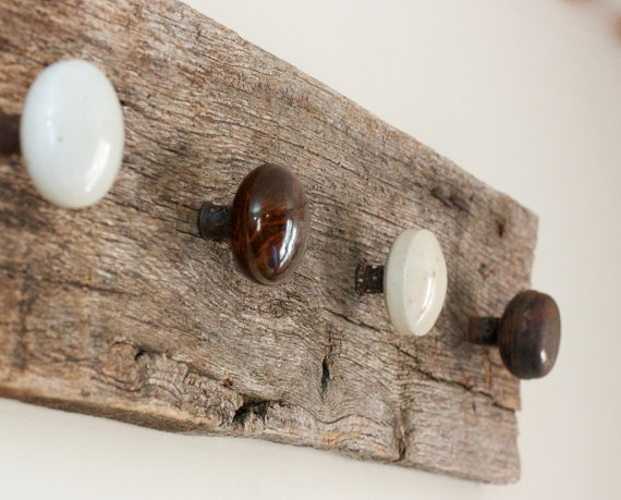door knobs as coat hooks photo - 20
