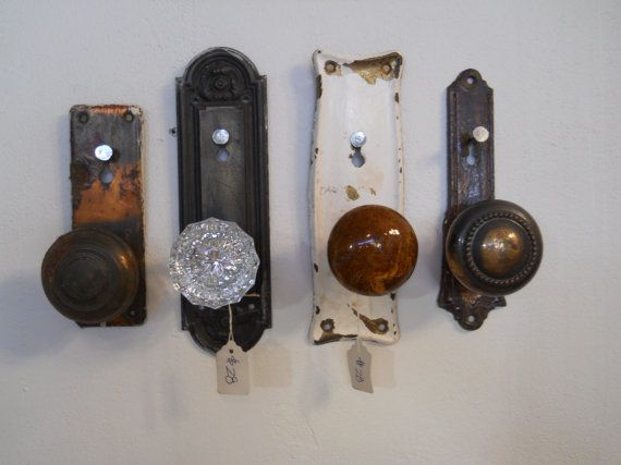 door knobs as coat hooks photo - 6