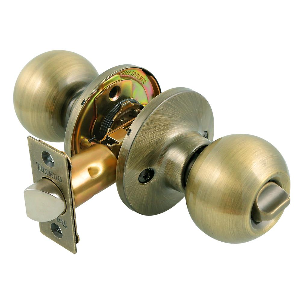 door knobs that lock photo - 2