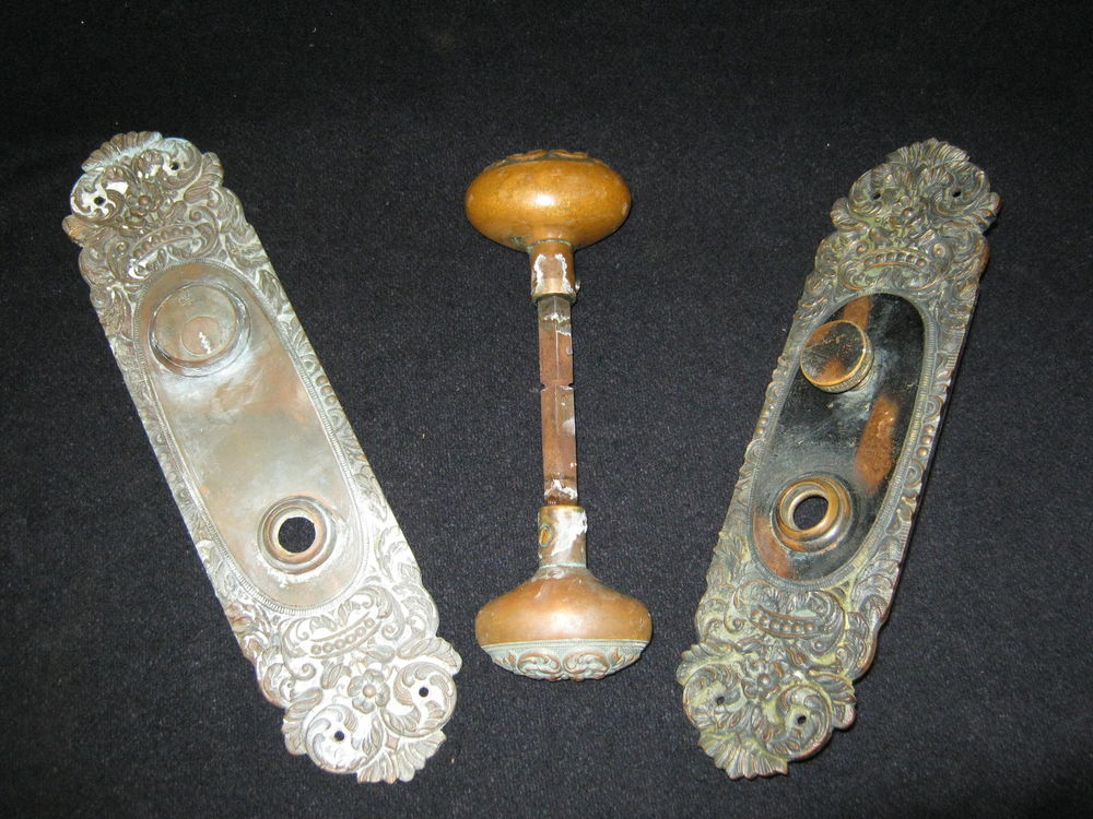 door knobs with backplates photo - 16
