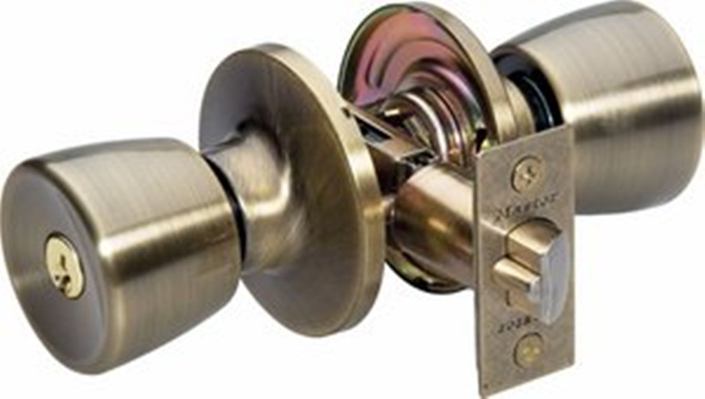 door knobs with lock photo - 2