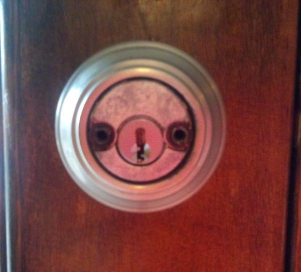 double keyed door knob photo - 20