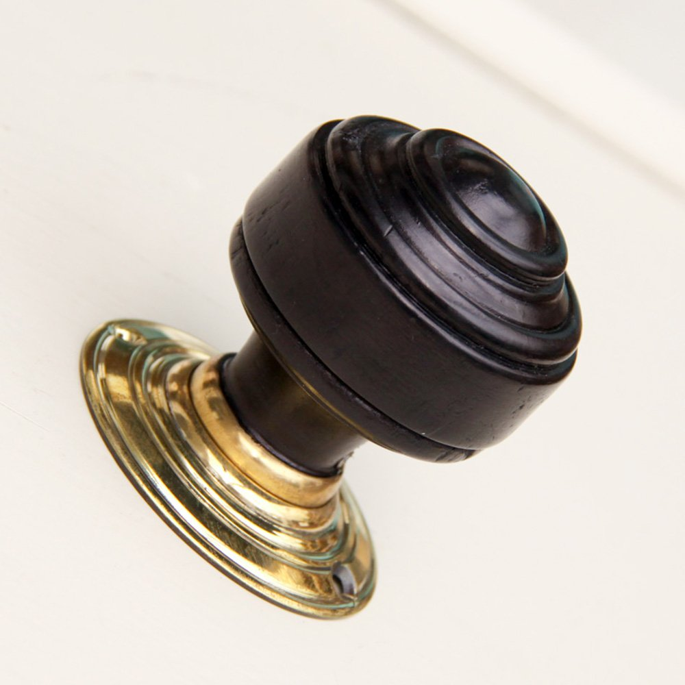 ebonised door knobs photo - 6