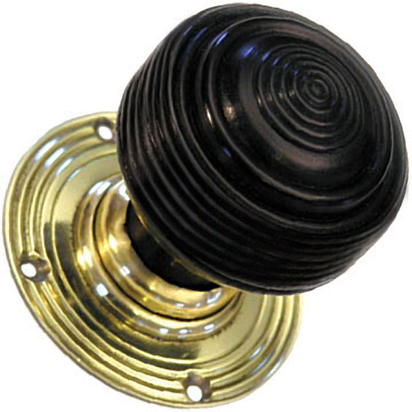 ebonised door knobs photo - 7