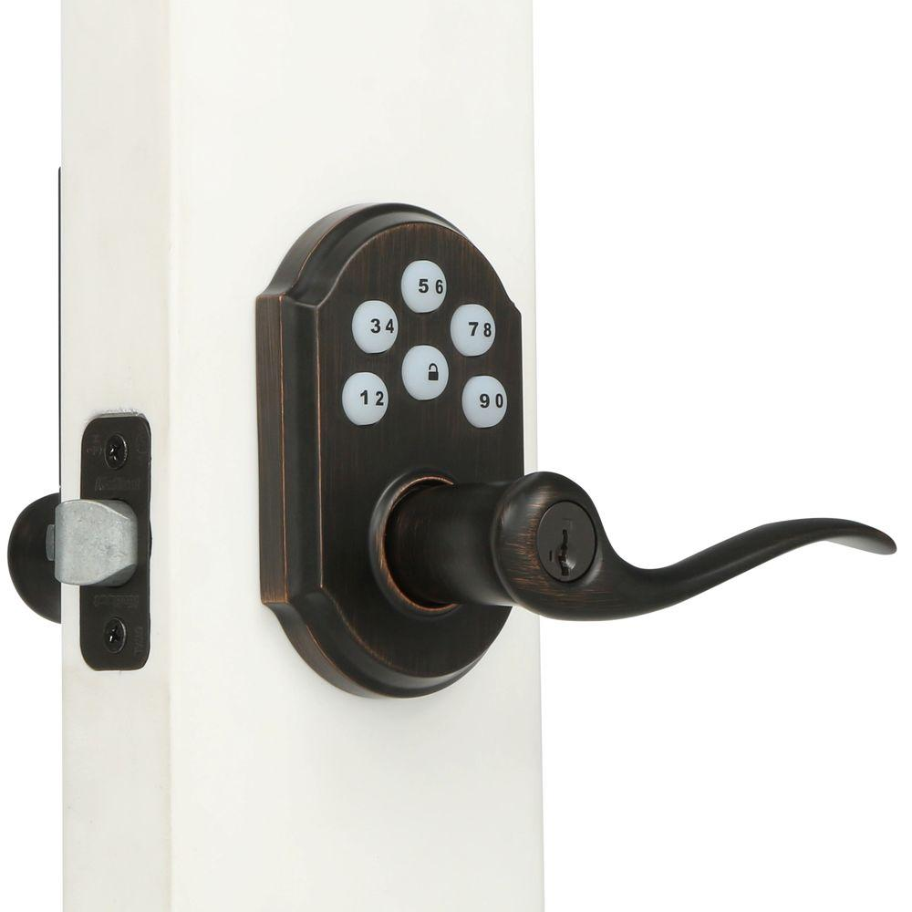 electronic door knob photo - 17