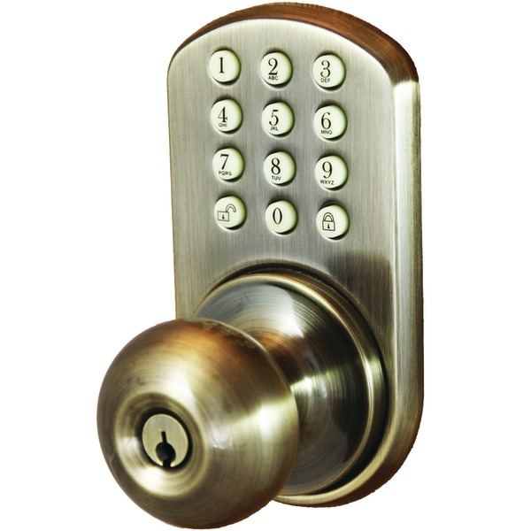 electronic door knob photo - 4