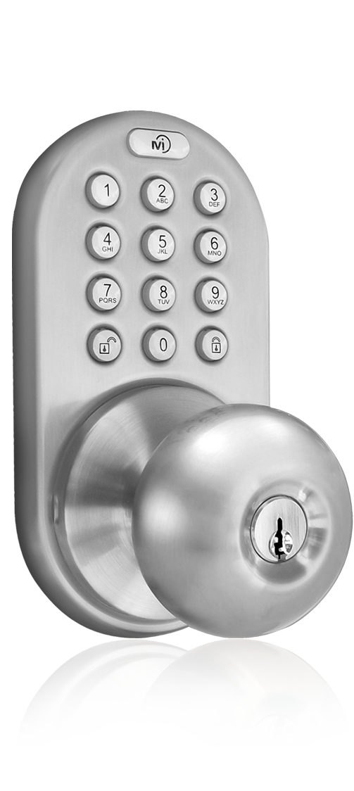 electronic door knob photo - 5