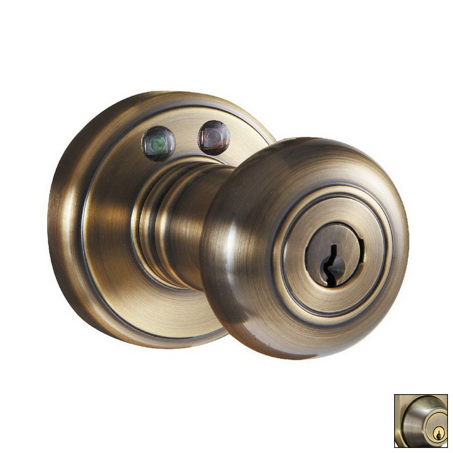 electronic door knob lock photo - 18