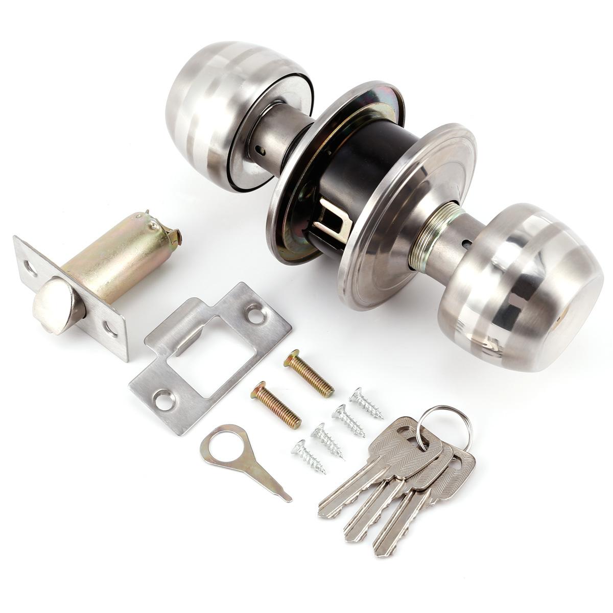 entrance door knob lock set photo - 6