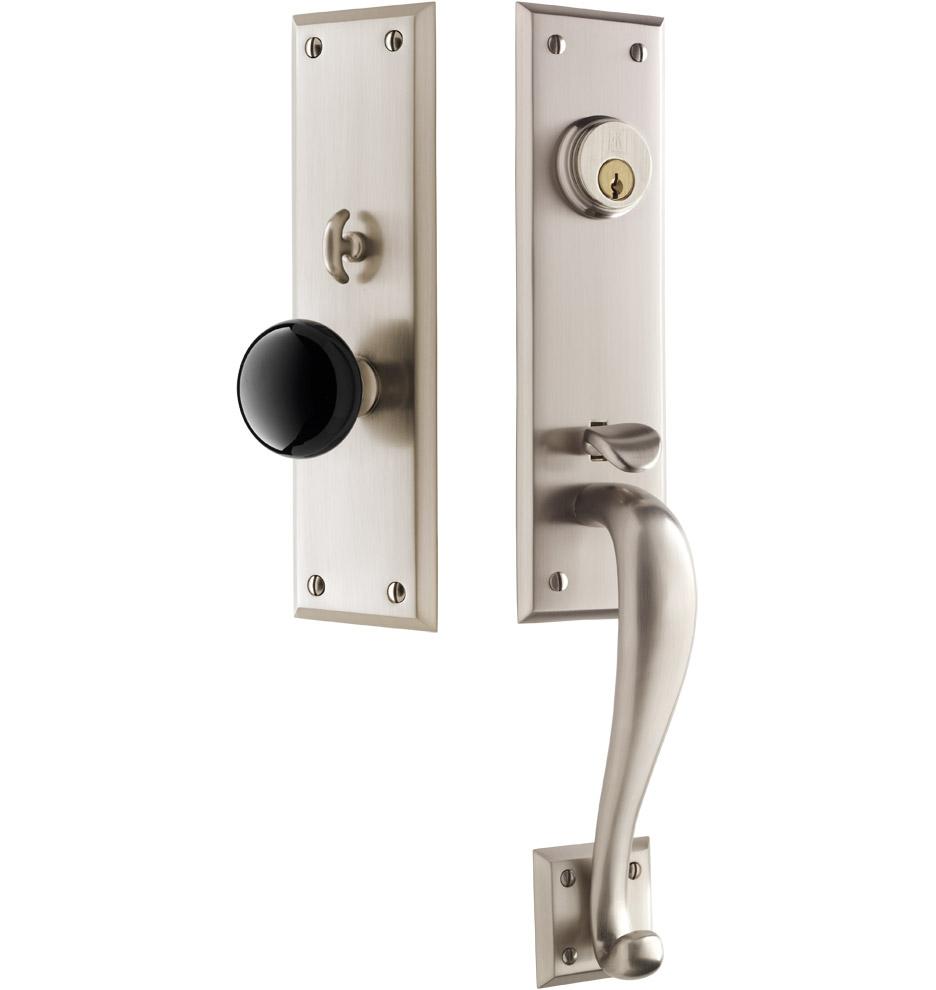 exterior door knob sets photo - 7