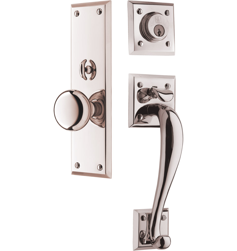 exterior door knobs and locks photo - 13