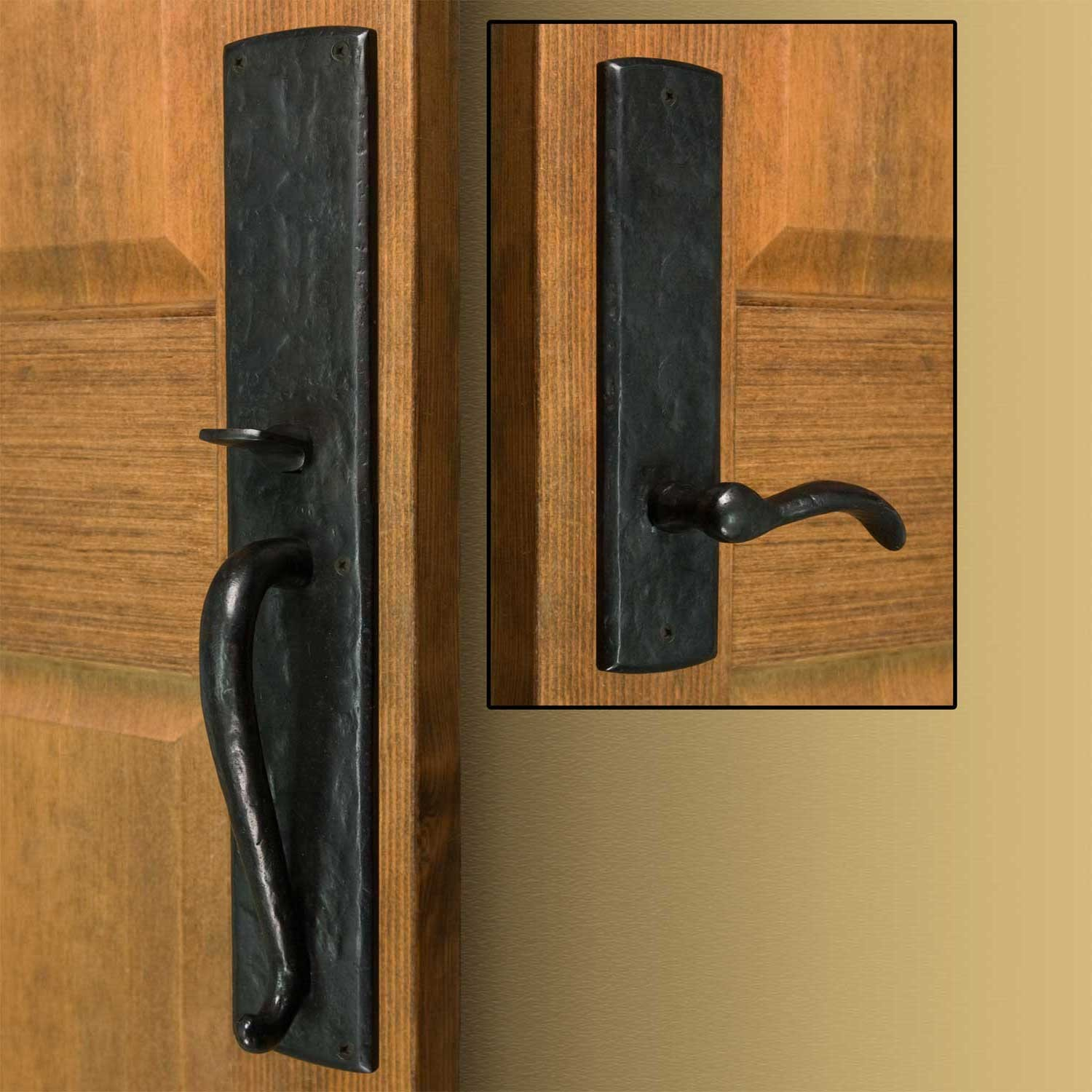 exterior door knobs and locks photo - 17