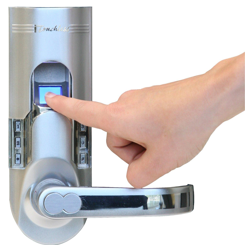 fingerprint door knob photo - 1