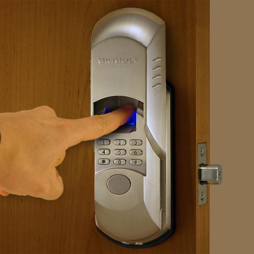 fingerprint door knob photo - 12