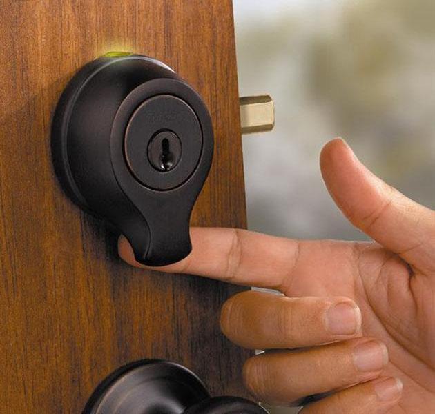 fingerprint door knob photo - 3