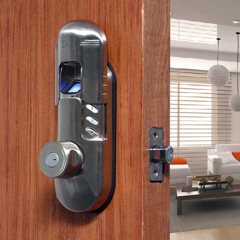 fingerprint door knobs photo - 4