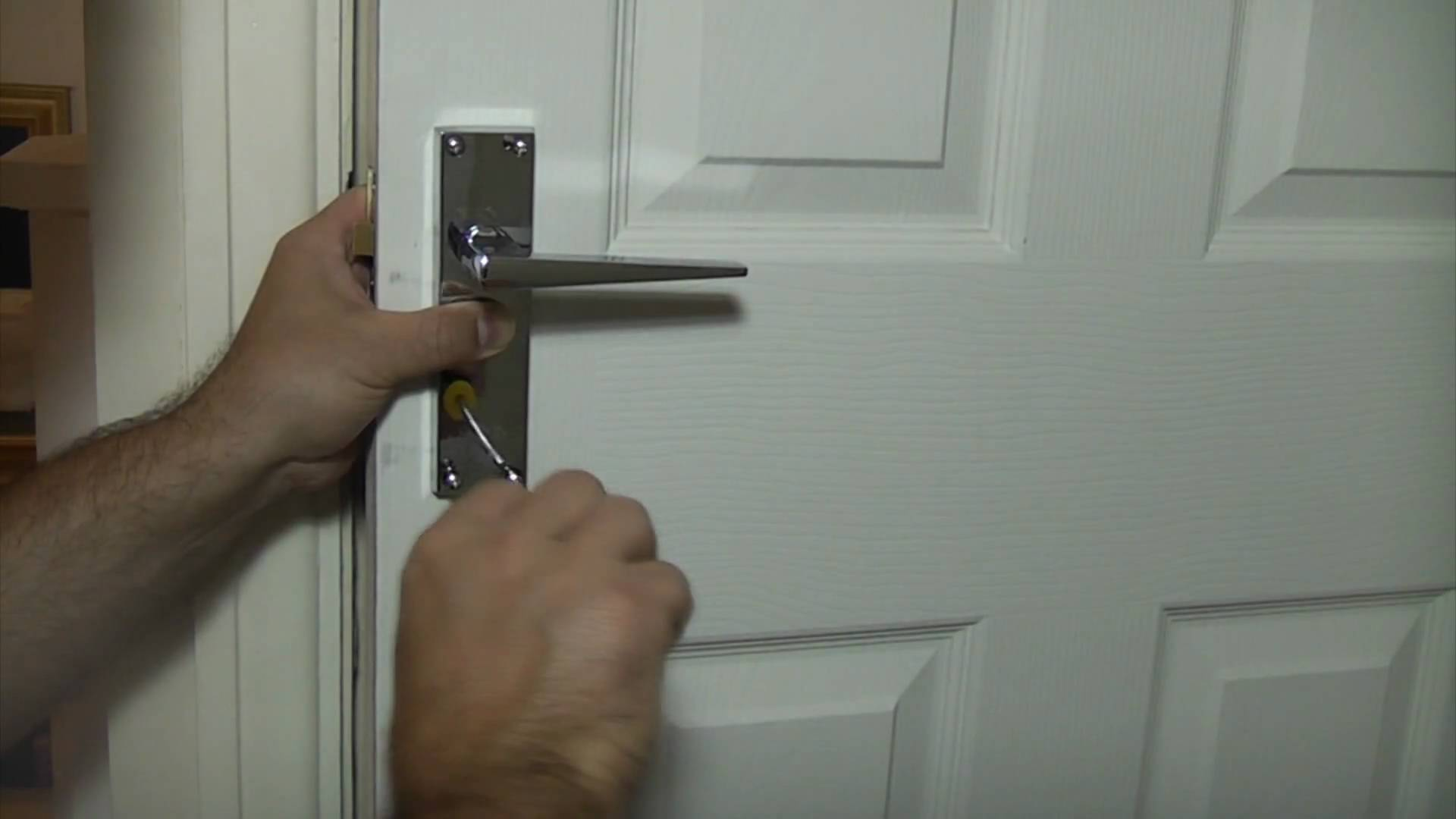 fixing loose door knob photo - 20