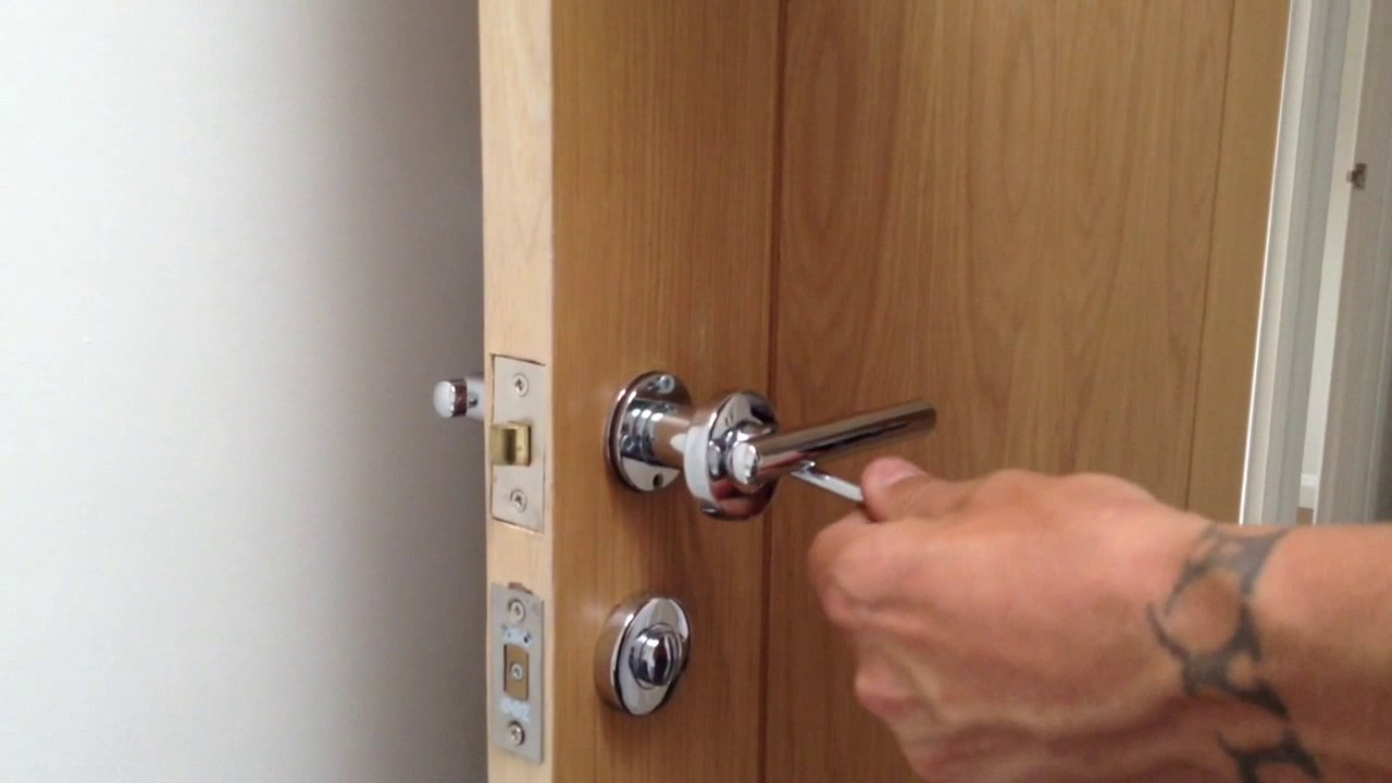 fixing loose door knob photo - 6