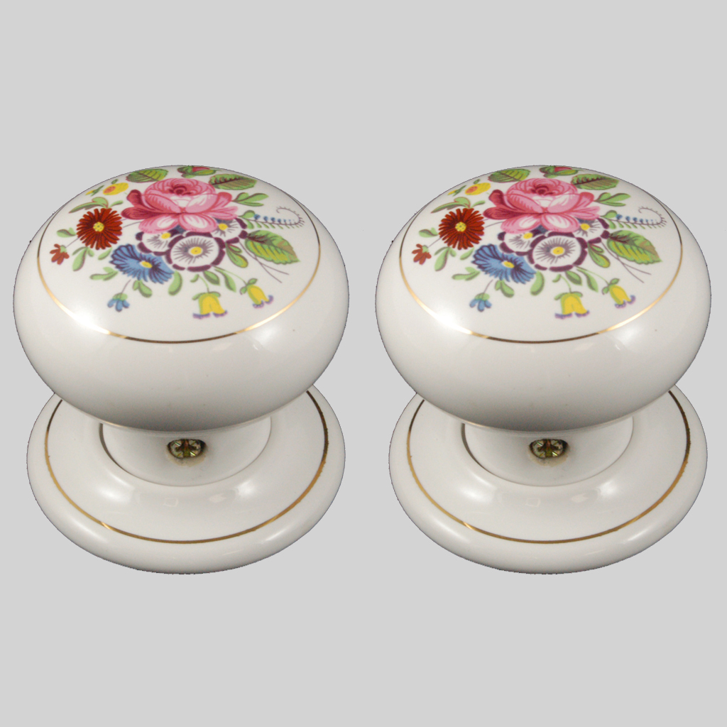 floral door knobs photo - 12