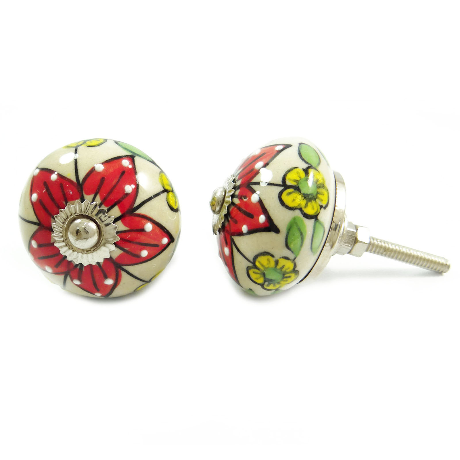 floral door knobs photo - 18