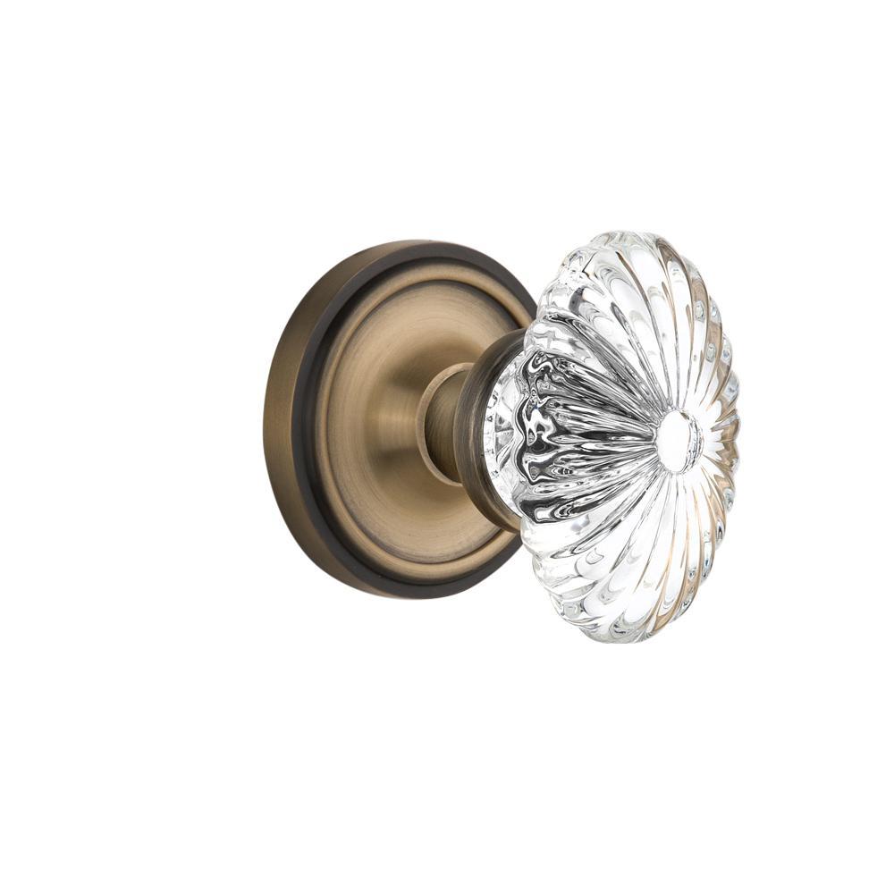 fluted glass door knobs photo - 17