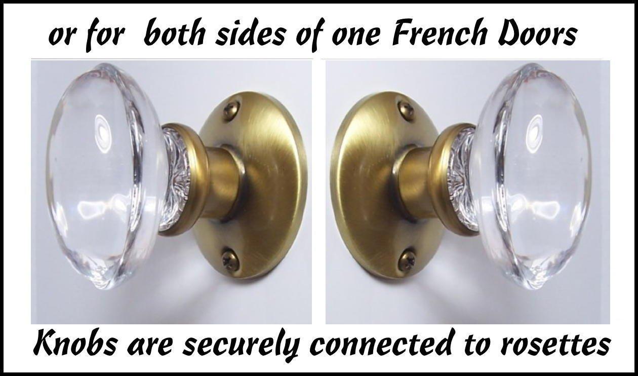french door door knobs photo - 10