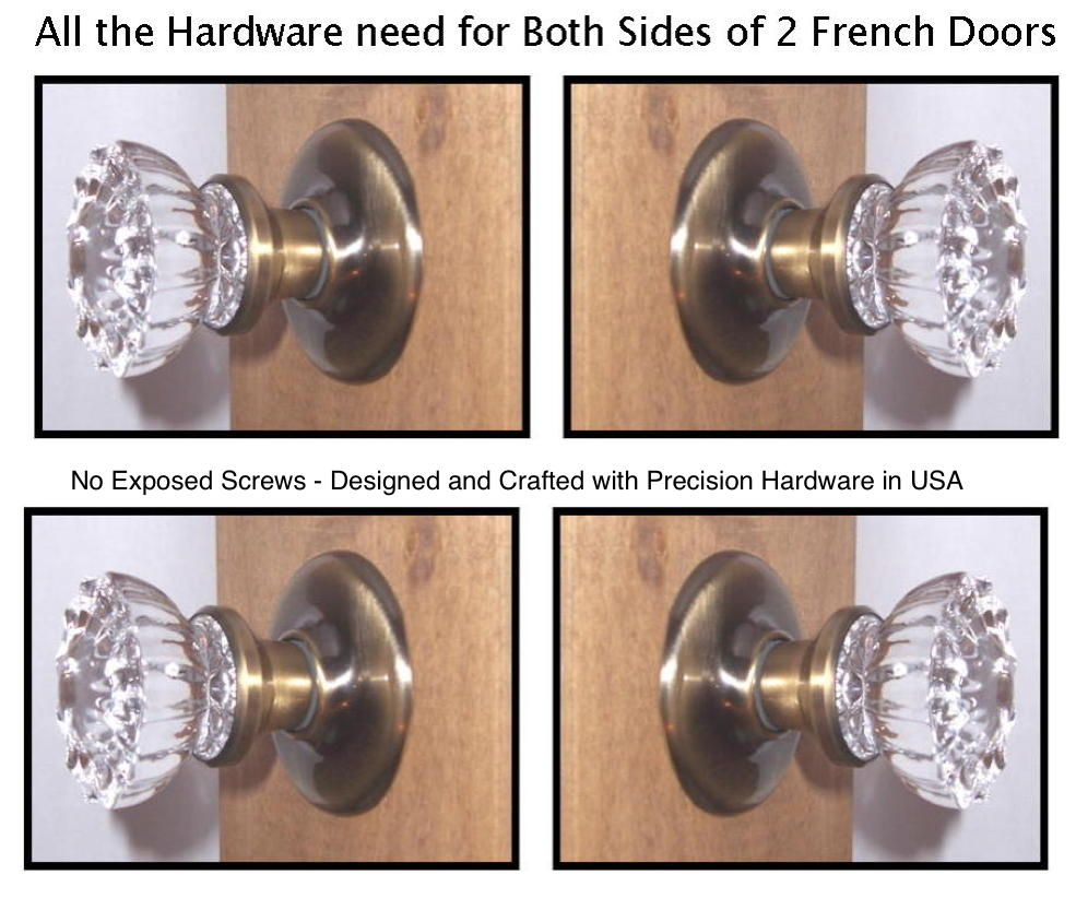 french door knob photo - 11
