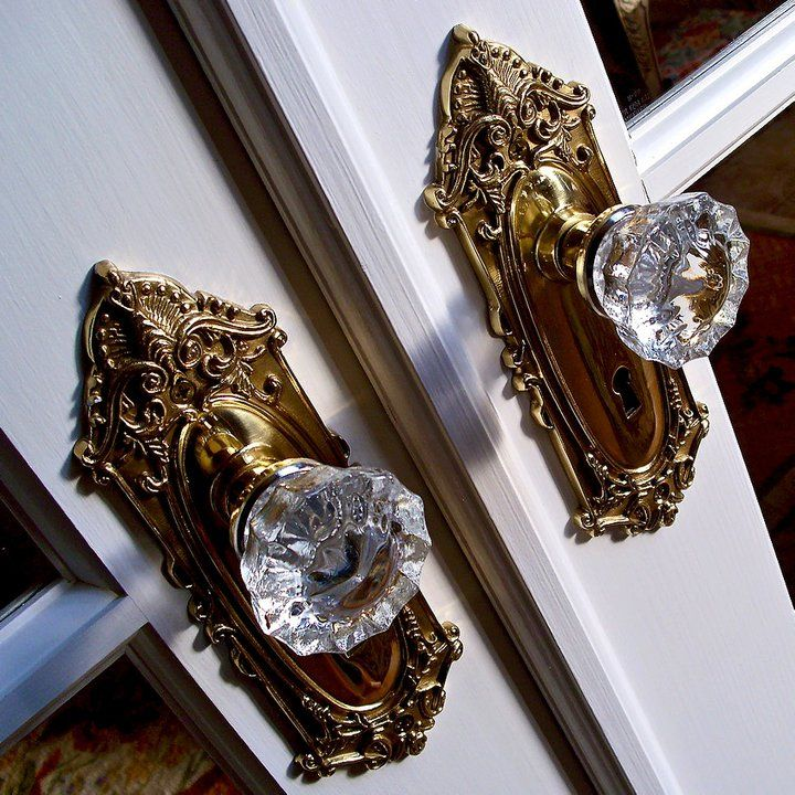 french door knob photo - 16