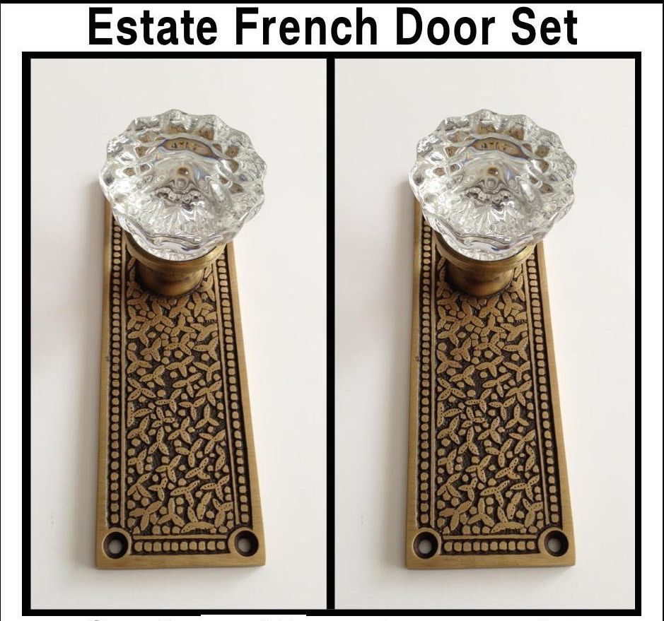 french door knob photo - 19