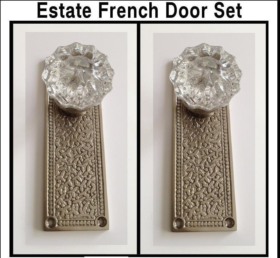 french door knob photo - 6
