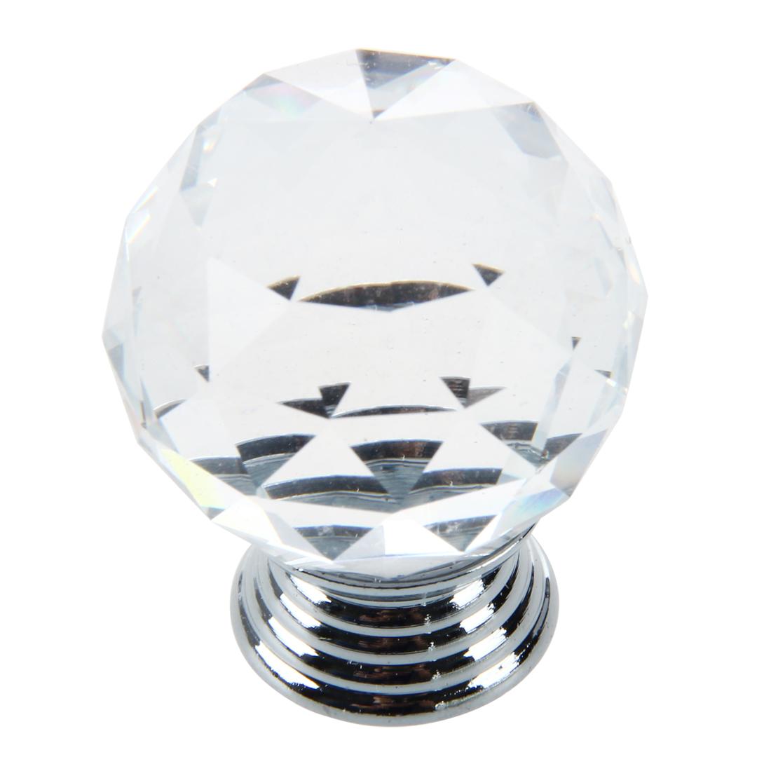 glass crystal door knobs photo - 15