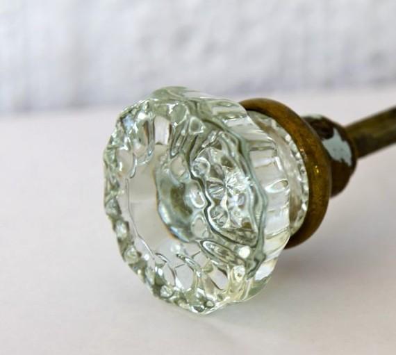 glass door knob hardware photo - 10
