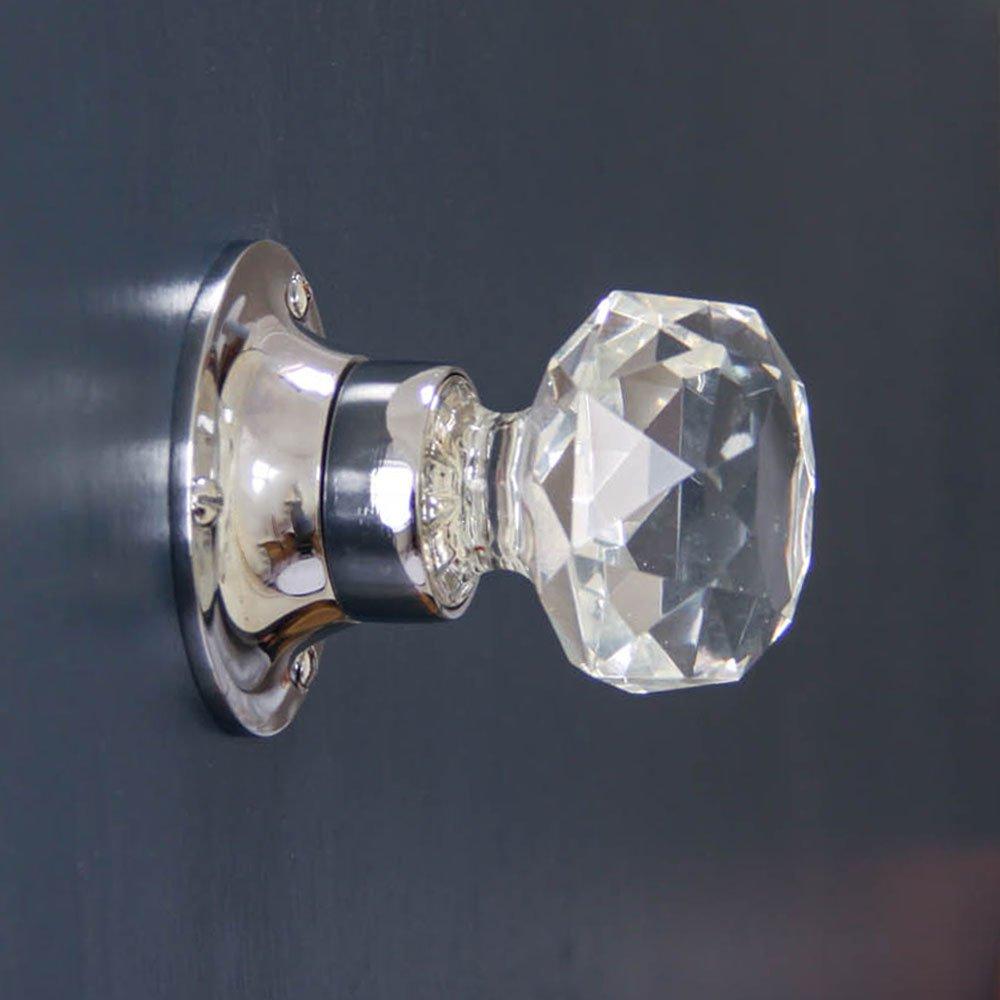 glass door knob hardware photo - 12