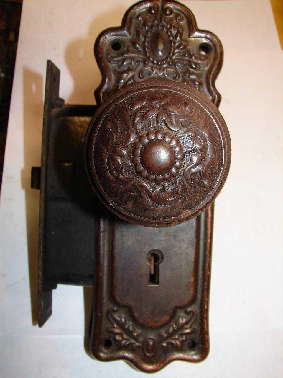 glass door knob hardware photo - 6