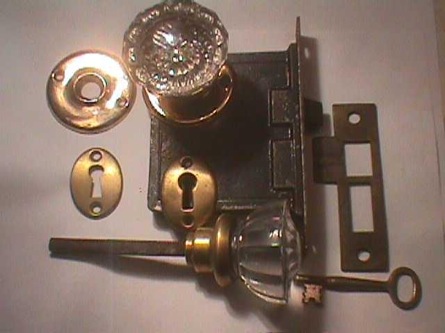 glass door knob sets photo - 15