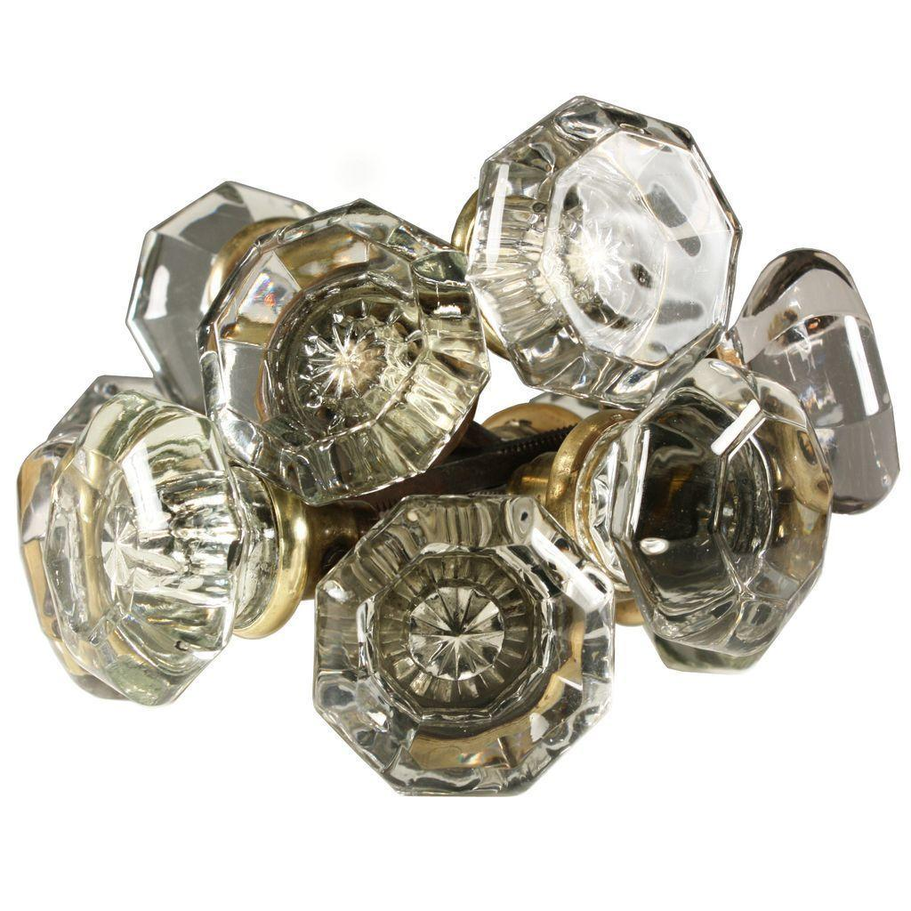glass door knobs antique photo - 2