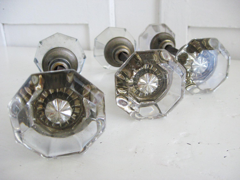 glass door knobs sets photo - 1