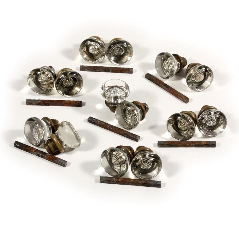 glass door knobs sets photo - 12