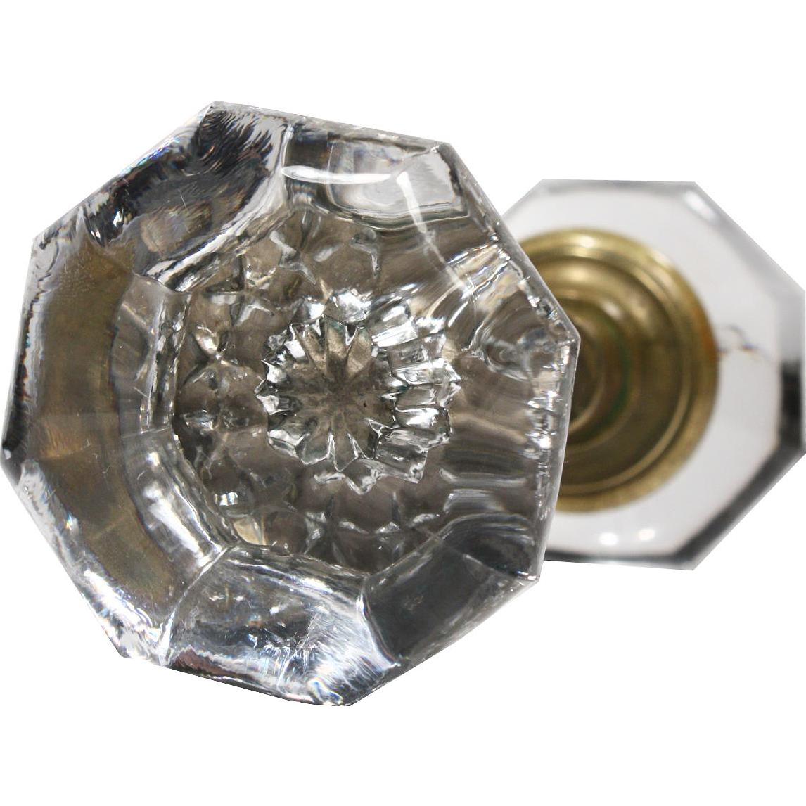 glass door knobs sets photo - 17