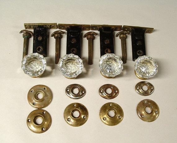 glass door knobs sets photo - 4