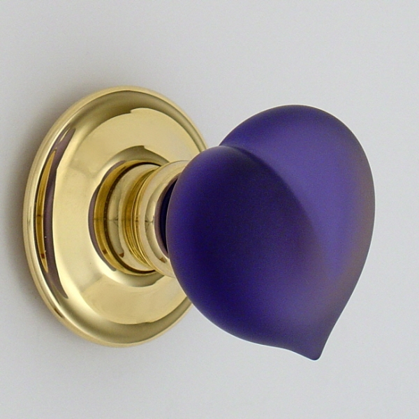 glass knob door handles photo - 1
