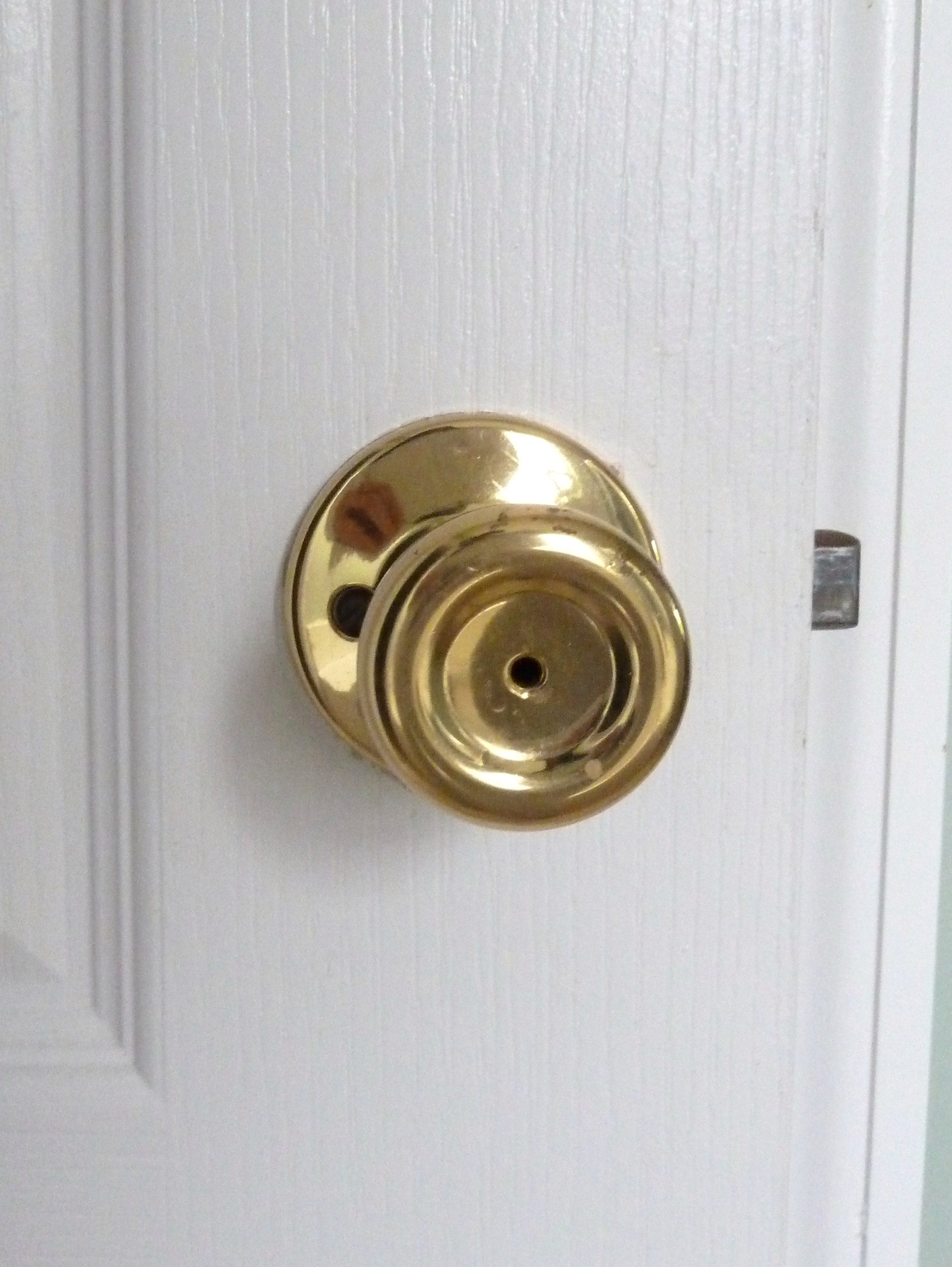 gold door knobs photo - 15