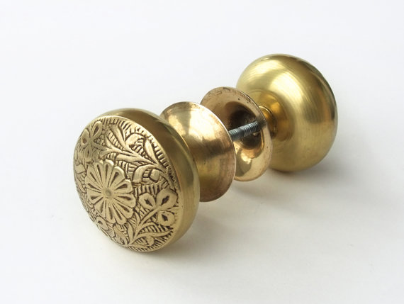gold door knobs photo - 3