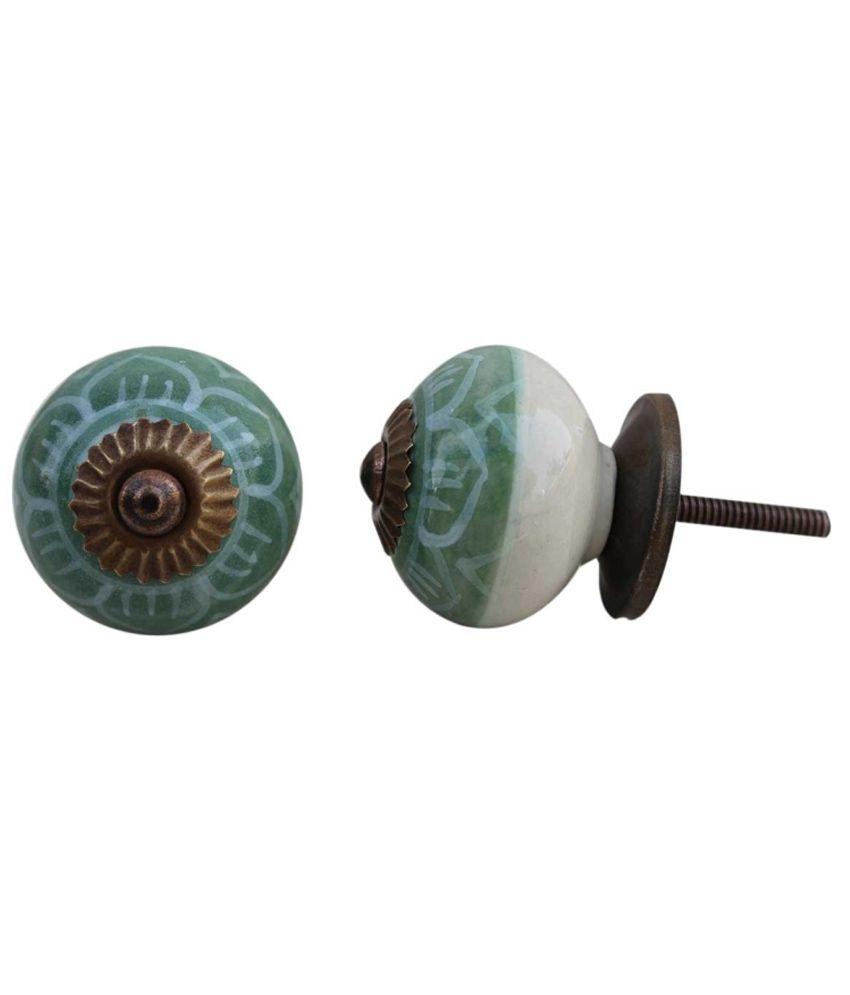 green door knob photo - 10