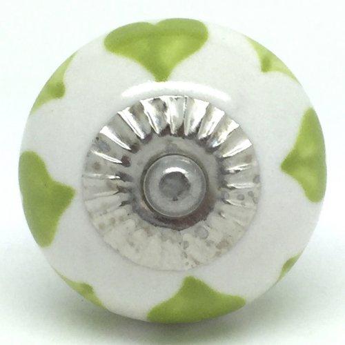 green door knob photo - 14