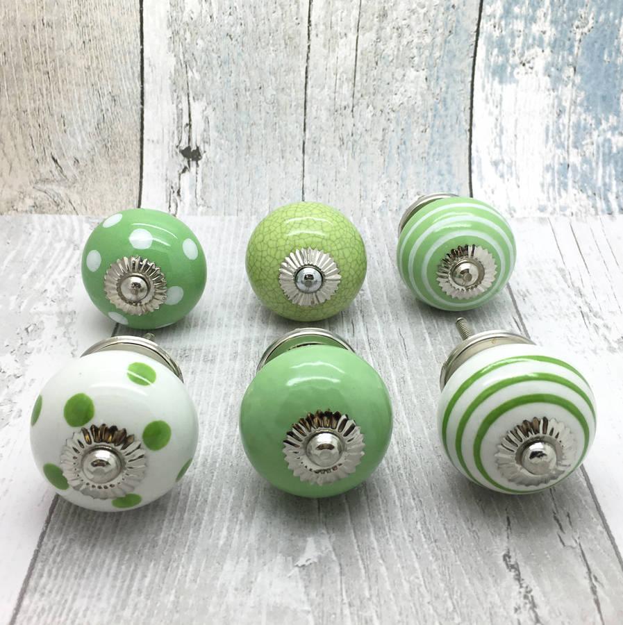 green door knob photo - 6