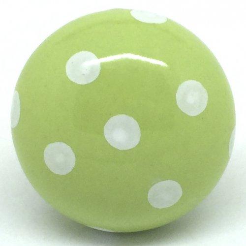 green door knob photo - 9